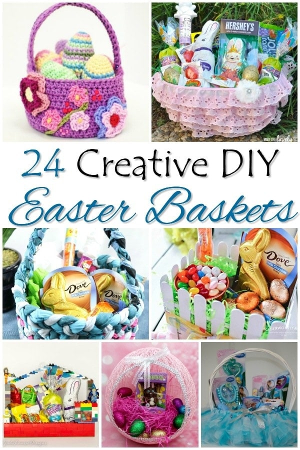 Creative DIY Easter Baskets | Easter Baskets | Easter Basket Craft | Easter Basket Accessories | Creative Easter Baskets | Unique Easter Baskets | #easter #easterbasket #diy #unique #creative