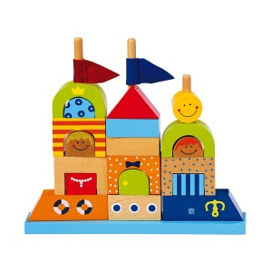 Sandcastle Blocks – wooden toy by Legler - artnomore.co.uk