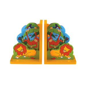 Lanka Kade wooden jungle fun bookend - Artnomore.co.uk
