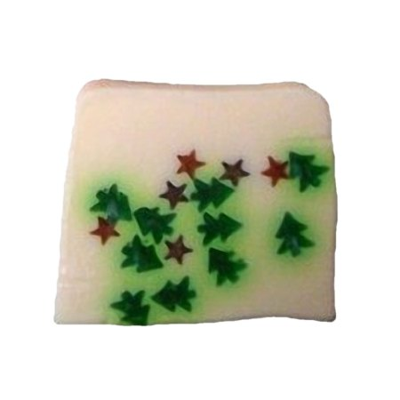 Mini Christmas Trees & Stars Soap artnomore.co.uk