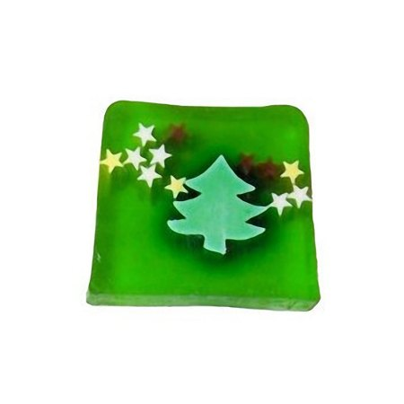 Christmas Trees & Stars Soap artnomore.co.uk