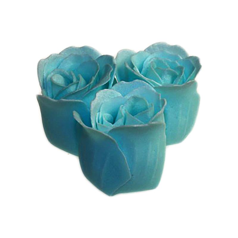 3 Roses in Heart Box (Ocean) - artnomore.co.uk