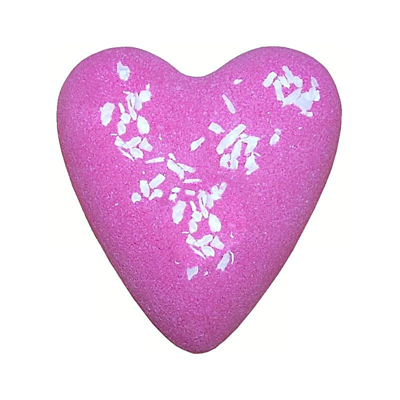 Megafizz Bath Heart - Sweet Heart with Coconut - artnomore.co.uk
