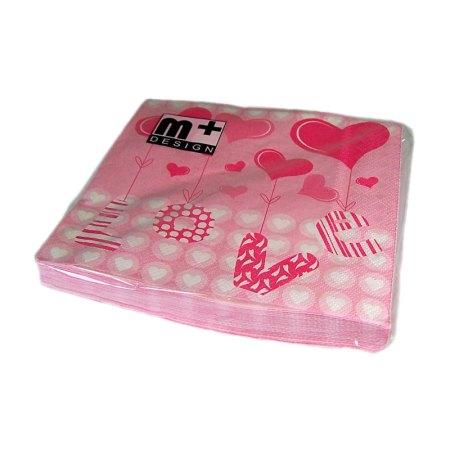 Valentine's Day Love & Hearts Gift Napkins - artnomore.co.uk