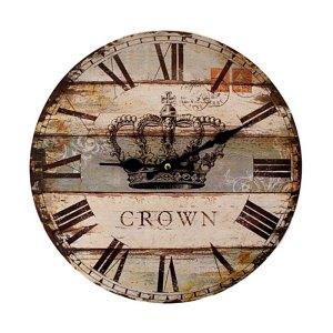 Clock - Crown - artnomore.co.uk