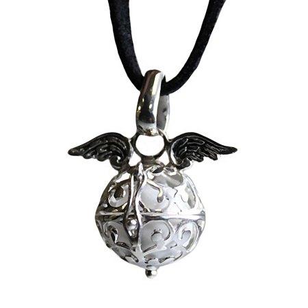 Angel Wings & Bell - White - artnomore.co.uk gift shop