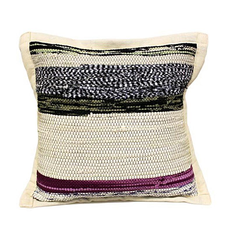 Rug Cushion Cover - Natural - artnomore.co.uk gift shop