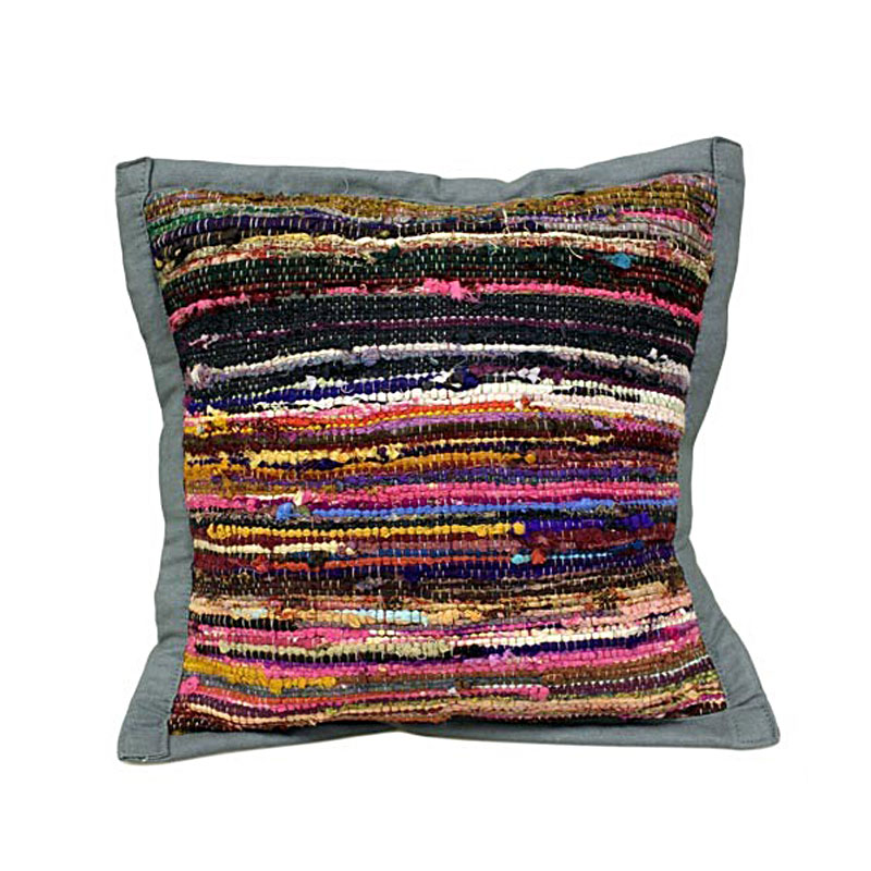 Rug Cushion Cover - Stone - artnomore.co.uk gift shop