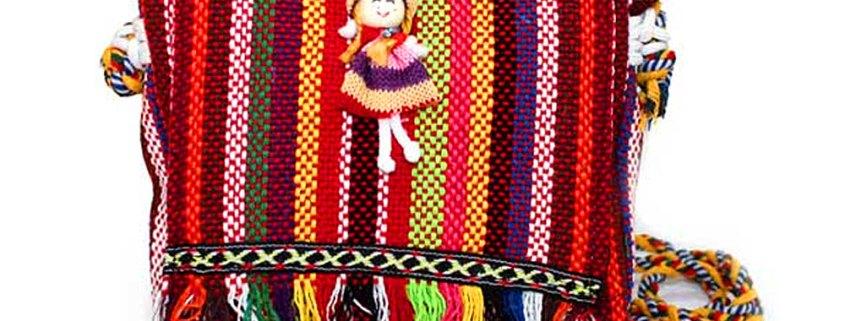 Tibetan Fringe Bag Doll Decor - artnomore.co.uk gift shop