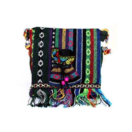 Tibetan Handbags - Small Fringe Bag Over Flap And Pouch - artnomore.co.uk gift shop