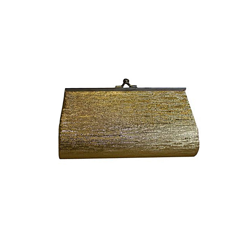 Medium Gold Clutch Bag