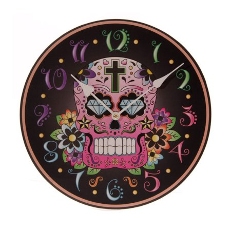 day of the dead picture clock