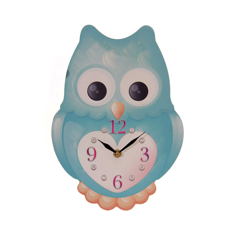 owl picture clock image