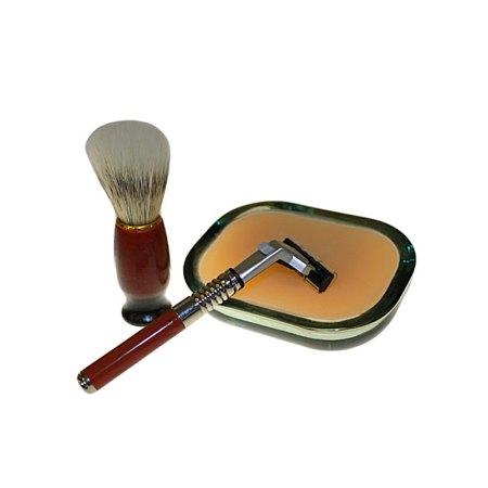 old school shaving kit sage patchouli orange