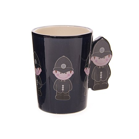 ted smith mugs policeman handle ceramic mug image 2