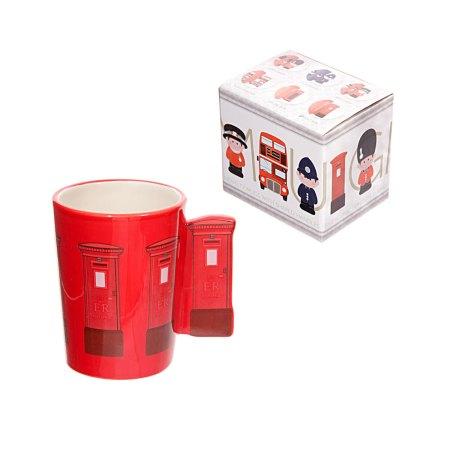 ted smith mugs red letterbox handle ceramic mug 1
