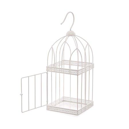 40cm square wire bird cage decorative image 1