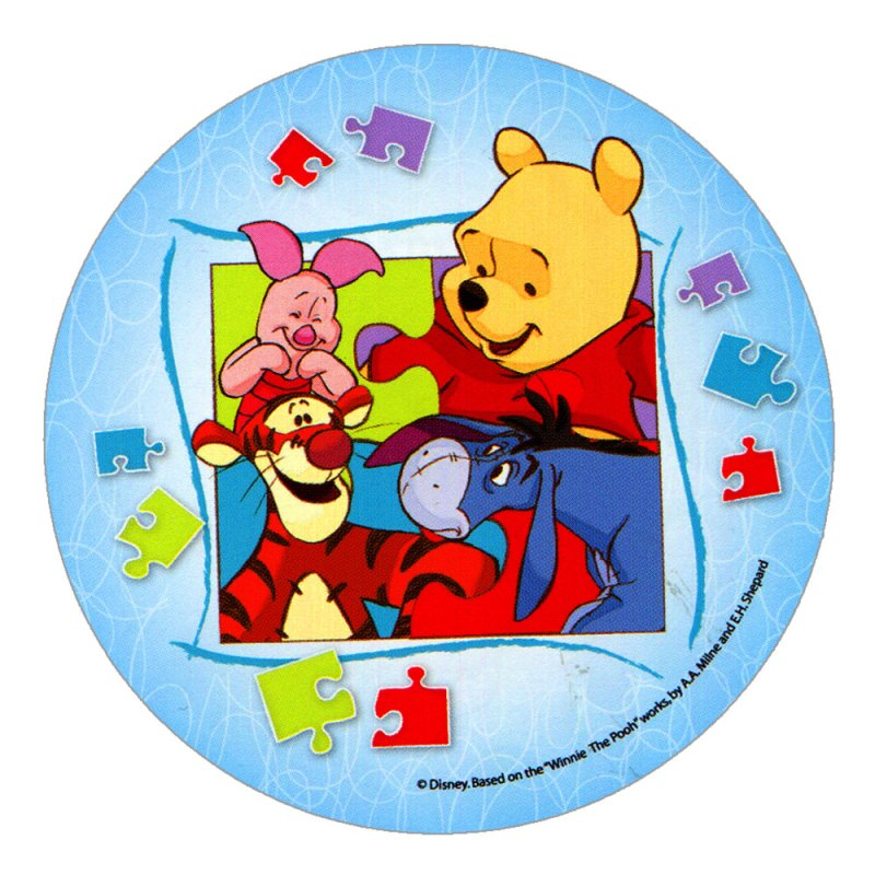 Disney Winnie The Pooh Edible Cake Toppers Design 3