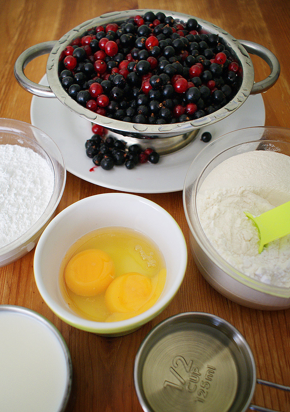 Bubbly Cake Ingredients