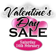 valentines day sale pop up banner