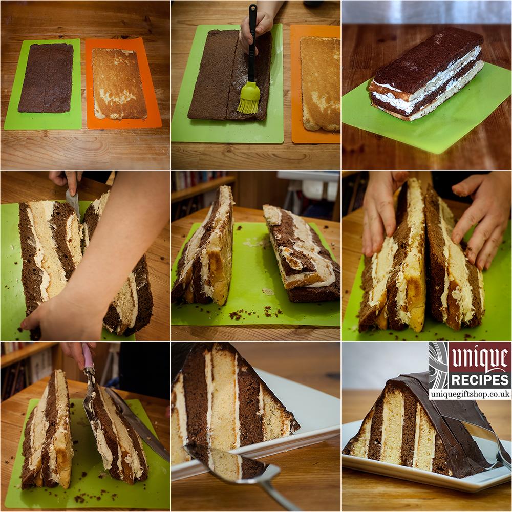 mocha latte cake recipe tutorial images