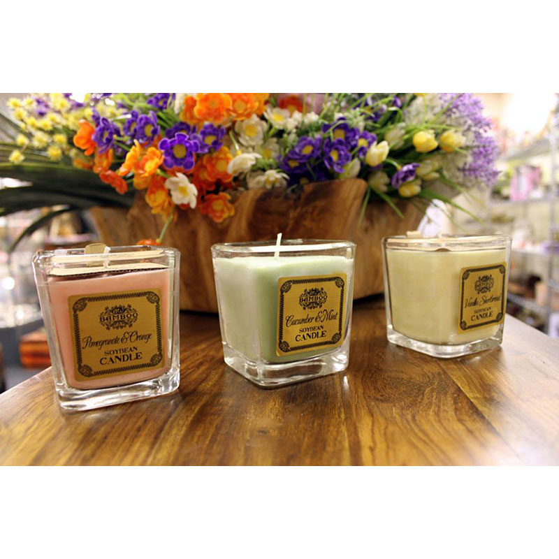 Soybean Wax Candles In Jars