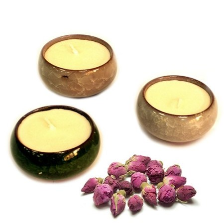 oriental teacup candles rose 2