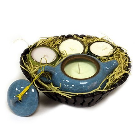 oriental teacup candles set 1