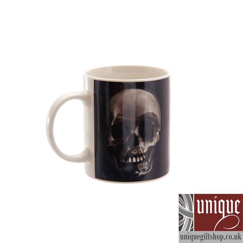black skull coffee mug image from uniquegiftshop.co.uk