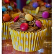 smarties cupcake image 2 the unique gift shop london