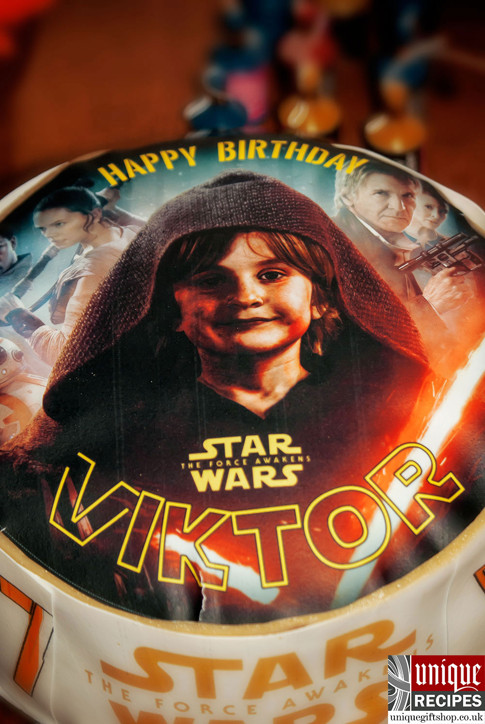 Cool My Sons Star Wars Birthday Cake Recipe Unique T Shop London Funny Birthday Cards Online Overcheapnameinfo