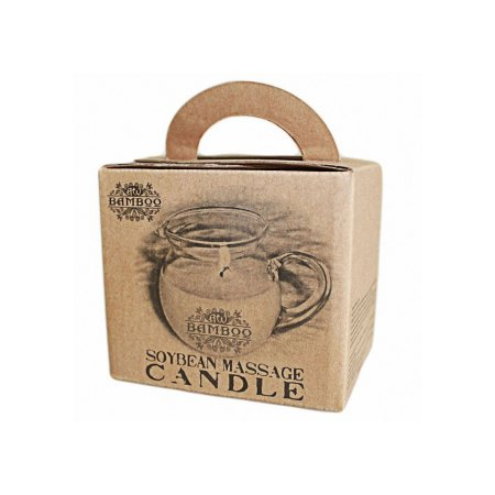 soybean massage candle box