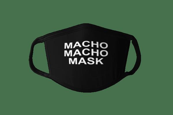 macho macho man, macho macho face mask, funny face mask, hero face mask, black and white face mask, mask debater face mask, mask debater mask, maskdebater face mask, maskdebater mask