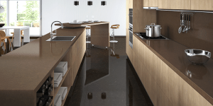 Caesarstone Kitchen Fution