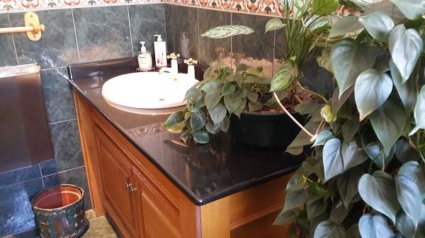 bathroom marble top