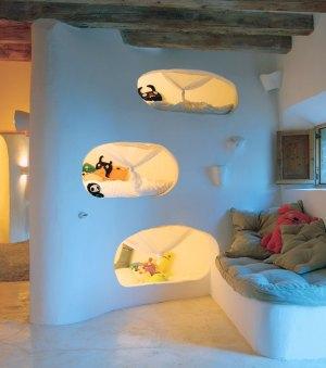 昆虫の気分になれる子供部屋