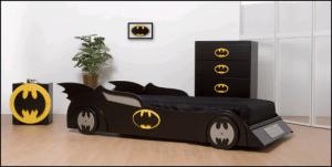 バットマン好きな人の寝室