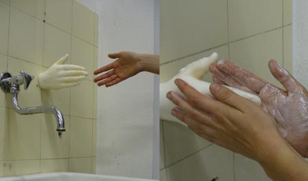 気持ち悪い!手の形をした石鹸