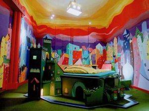 おもちゃの世界の子供部屋