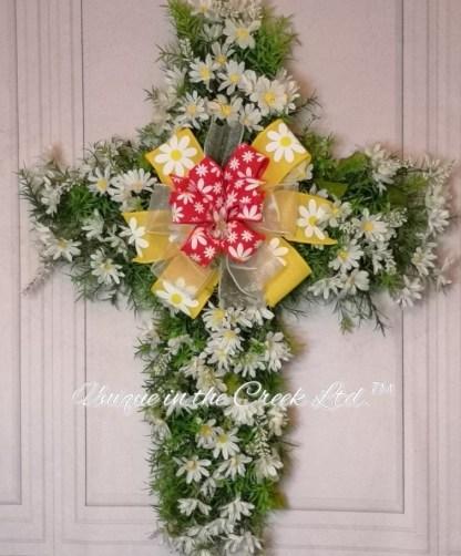 DIY Wreath Cross
