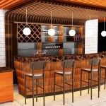 Modern Restaurant Bar Counter Design Wine Reception Counter For Shop
