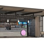Shipping Container Restaurant Coffee Shop Design Bars For Sale
