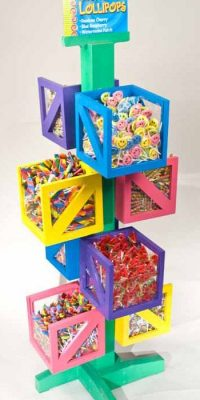 candy display store fixtures shop