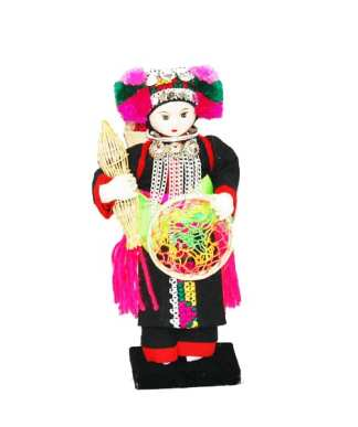Hill Tribe Dolls Meo