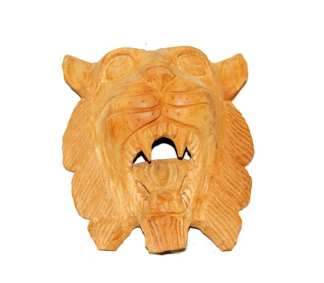Lion Face Door Ornament 10""
