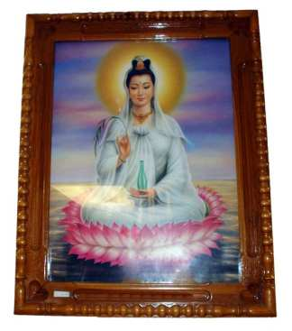 Framed Picture of Quan Yin