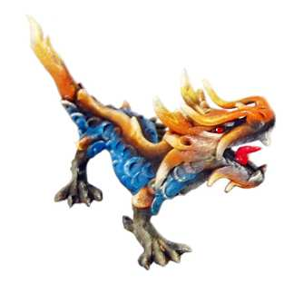 Serpent Dragon 8 inch