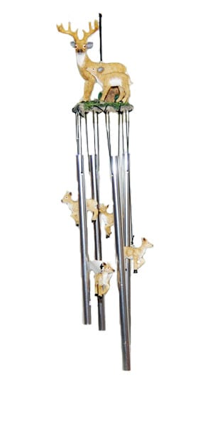 Deer and Fawn Wind Chimes