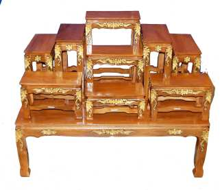 10 Piece Buddhist Altar Set