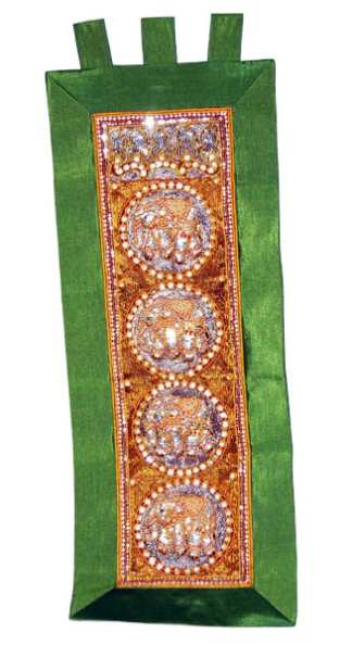 Kalaga Tapestry Elephant Green